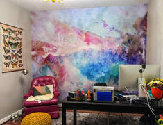 MUSE Wall Studio Special Order Cool Tones Watercolor Wall Mural Review