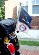 X50 Flag Mounts BUILD YOUR OWN: Chrome Motorcycle Flag Mount With 8x11 Top Flag Review