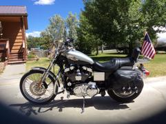 X50 Flag Mounts Motorcycle Flag Mount With 11.5X15in Wisconsin State Flag Review