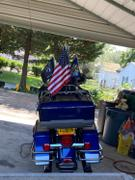 X50 Flag Mounts Motorcycle Flag Mount With 11.5X15in Alaska State Flag Review