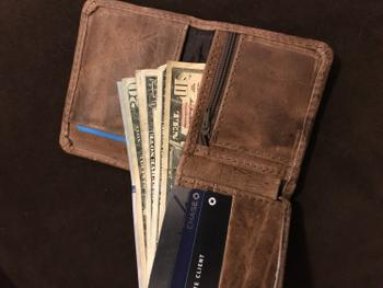 Atitlan Leather Mens Leather Wallet with Coin Pocket and id Window Review