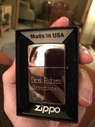 The Man Registry Personalized Zippo Aces Lighter Review