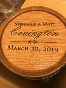 The Man Registry Personalized Wine Barrel Wedding Card Holder Review