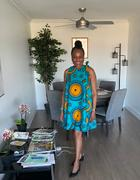 Ray Darten Chibi African Print Dress Review