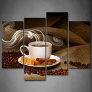 Enjoy Canvas 4 Panel Coffee Canvas Art Review