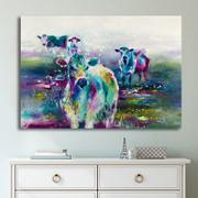 Enjoy Canvas 1 Panel Abstract Cow Canvas Prints Review
