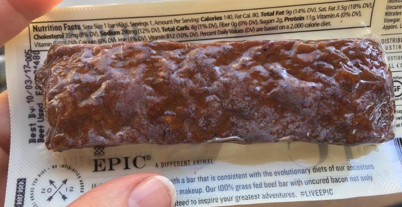 Jerky Protein Bar by Epic Provisions
