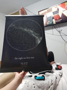 Online Star Map Personalised Star Map Gift A2 Review