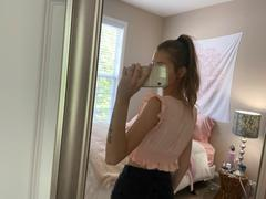 Pink & Flare Sterling Rust Crop Top Review