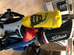 Cayce Golf Gadsden Flag Golf Head Cover DURA+ Review