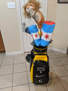 Cayce Golf Chicago City Flag Head Cover DURA+ Review