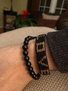 Love Is Project LOVE Bracelet - Black/Gold Review