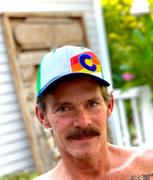 YoColorado Incline Colorado Trucker Hat - Rainbow Denim Review