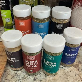 "Balanced Bites Wholesome Foods ""SUPER BLENDS"" 3-pack of organic spice blends Review"