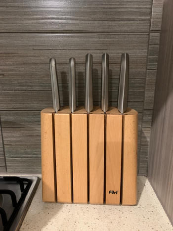 House of Knives Furi Pro Chamber Vertical 6-teiliges Messerblock-Set Bewertung