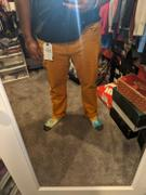 LRG Clothing SLIM STRAIGHT TWILL PANTS CATHAY SPICE Review