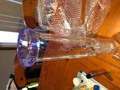 420 Science Envy Glass 16in Beaker w/10 Arm Perc - Purple Review