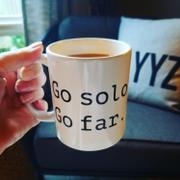 The Lone Travel Girl Go Solo, Go Far Mug Review
