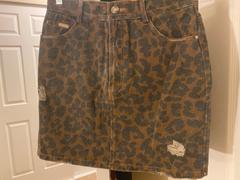 J.ING Pounce Leopard Mini Skirt Review