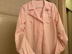 J.ING Kelly Pink Asymmetrical Blouse Review