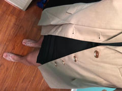 J.ING Structured Beige Blazer Review
