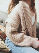 J.ING Rivka Pink Rib Knit Cardigan Review