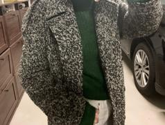 J.ING Jasper Grey Wrap Wool Coat Review
