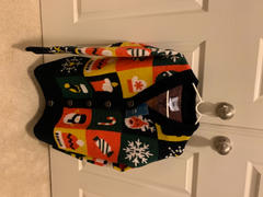 J.ING Oversize Holiday Knit Cardigan Review