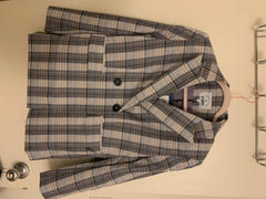 J.ING Ally Grey Checkered Blazer Review