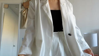 J.ING Erika White Blazer Review