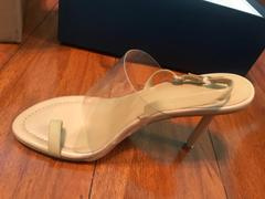 J.ING Vexxer PVC Heels in Tan Review
