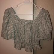 J.ING Giselle Gingham Crop Top Review