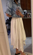 J.ING Helena Ivory Handkerchief Midi Skirt Review