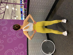 J.ING Citrus Lime High-Waist Vented Legging Review