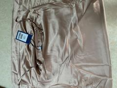 J.ING Champagne Gold Ruched Mini Slip Dress Review