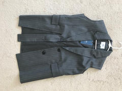 J.ING Winston Charcoal Pinstriped Vest Review