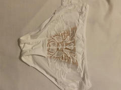 J.ING White Floral Lace Hipster Review