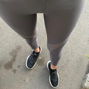 J.ING Deep Charcoal Mesh Panel Leggings Review