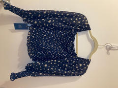 J.ING Marissa Dotted Puff Sleeve Top Review