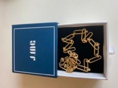 J.ING Ruta Gold Chain Link Necklace Review