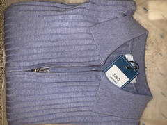 J.ING Hadley Blue Double Zip Cardigan Review