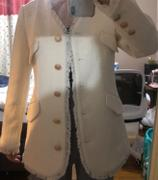 J.ING Paloma Ivory Tweed Oversized Jacket Review
