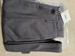 J.ING Business Charcoal Belted Trousers Review