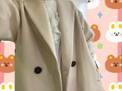 J.ING Oversized Light Pink Blazer Coat Review