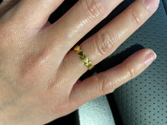 Tiny Tags Gold Vermeil Perfectly Imperfect Heart Band Review