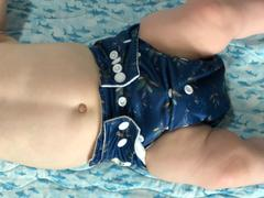 My Little Gumnut Modern Cloth Nappy - Navy Boho Review