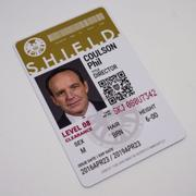 Epic IDs Agents of SHIELD Inspired Classic SHIELD Agent ID - [Photo Personalized] Review