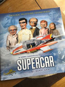 The Gerry Anderson Store Supercar: Original TV Soundtrack: Limited Edition Coloured Vinyl (LP) Review