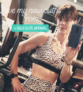 Gold Elite Apparel  Sophia Sports Bra Low Cut *Special Edition Cheetah Review