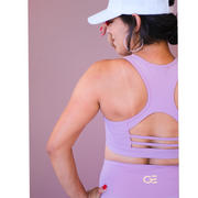 Gold Elite Apparel  Brittney Sports Bra *Limited Edition Lilly Lavender Review